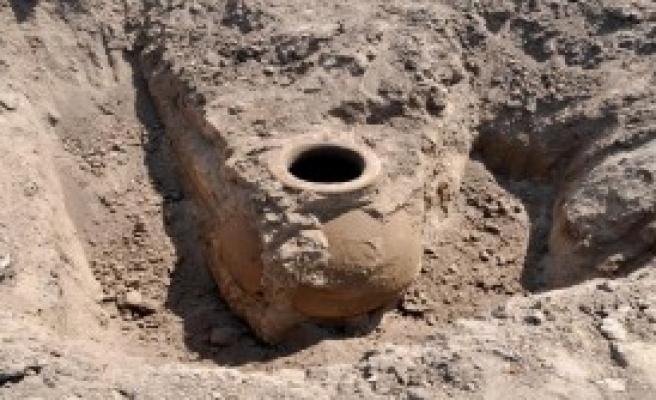 Tarlada 1500 Yıllık Küp Bulundu