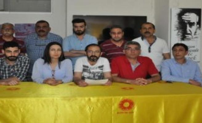 Tarsus'ta 1 Mayıs Kutlamaları İptal Edildi