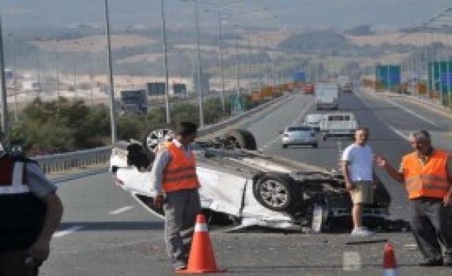 Tatil Dönüşü Kaza: 6 Yaralı