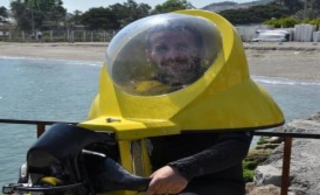 Tek Kişilik Denizaltı Motosikleti