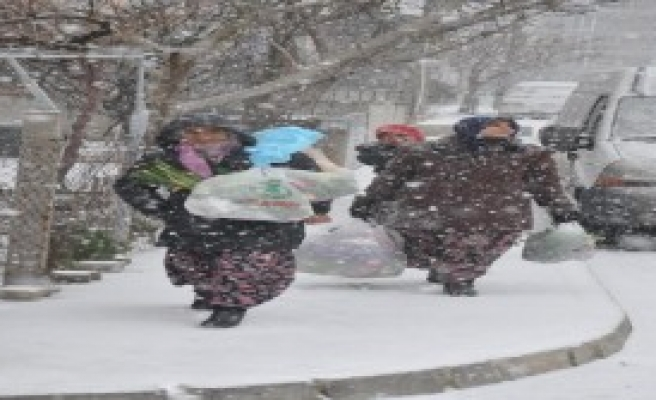 Tekirdağ'da Kar Tatili