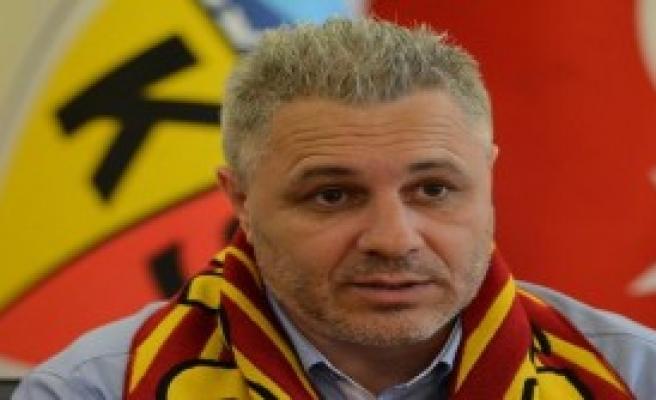Teknik Direktör Sumudica: Kayserispor'da Mutluyum