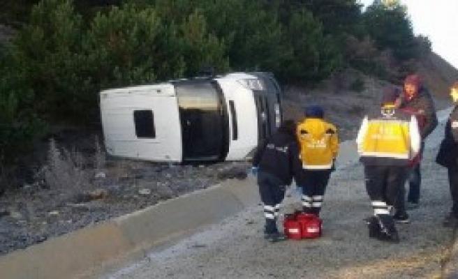 Televizyon Programı Ekibi Kaza Yaptı