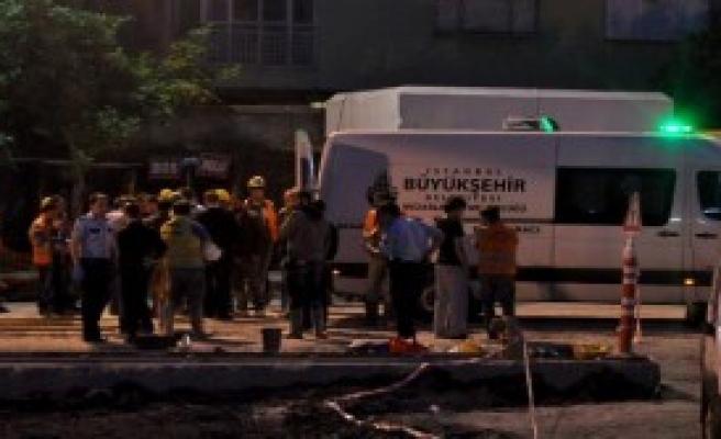 Metro İnşaatında Feci Kaza