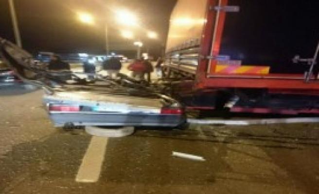 Otomobilin Sürücüsü Öldü