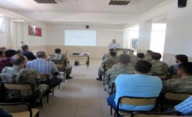 Tokat'ta Askerlere Kene Eğitimi