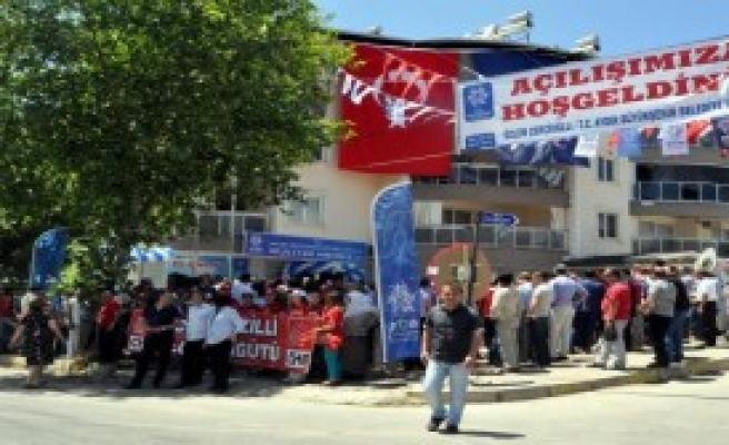 CHP'li Çerçioğlu'dan Yoğun Mesai