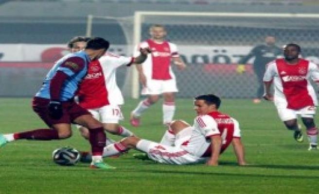 Trabzon, Ajax'ı Penaltılarla Devirdi