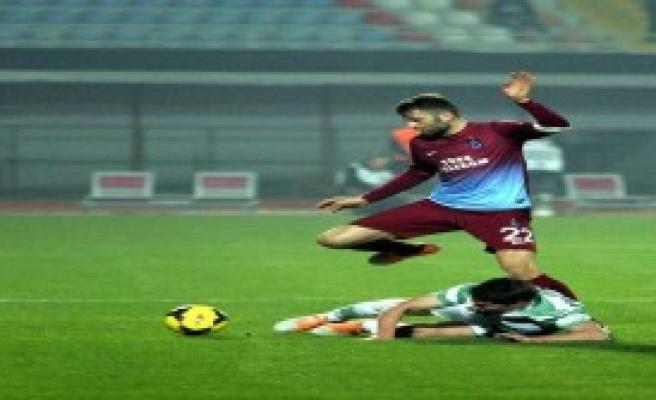 Trabzon, İlk Yarıda Boyun Eğdi