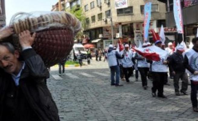 Trabzon'da 1 Mayıs Coşkusu