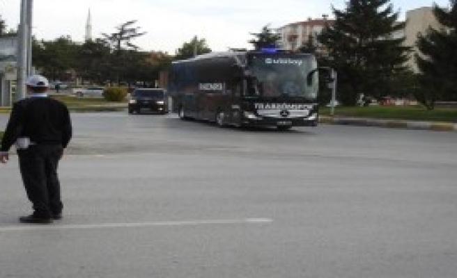 Trabzonspor, Çorum'a Geldi