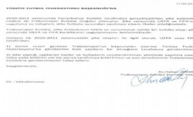 Trabzonspor Yazıların Örneğini Vermedi