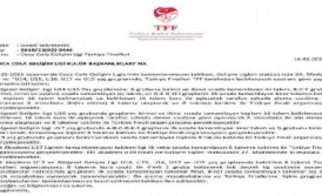 Trabzonspor'dan U17 Açıklaması