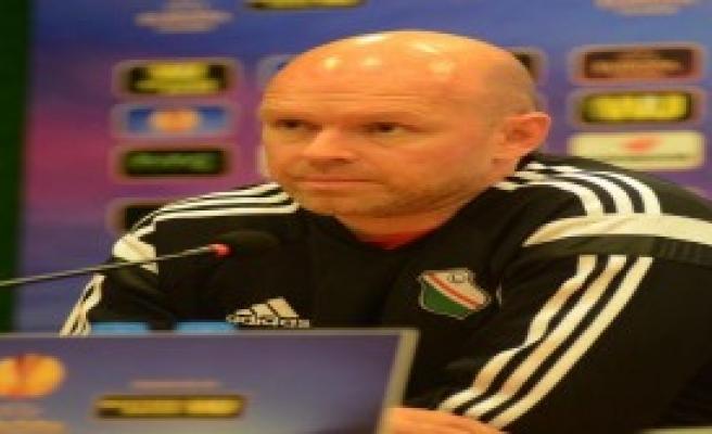Legia Varşova Teknik Direktörü:'Keyifli Maç Olacak'