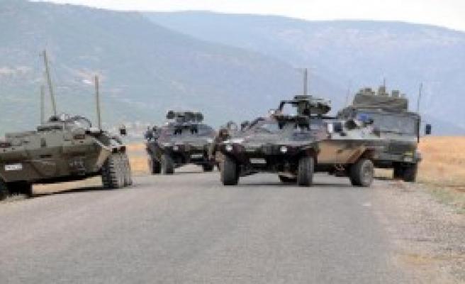 Tunceli Hozat'ta Çatışma; 1 Pkk'lı Öldürüldü