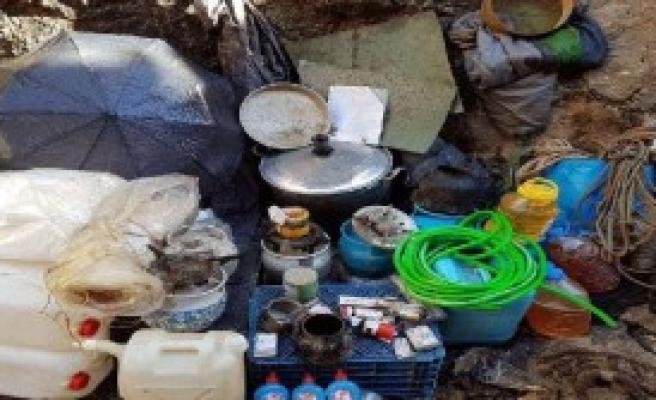 PKK Sığınağında EYP Bulundu