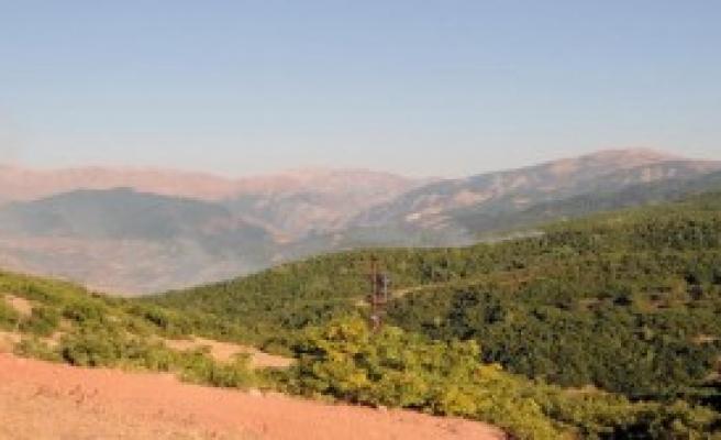 Tunceli'de PKK'nın 1 Ton Bombası Ele Geçirildi