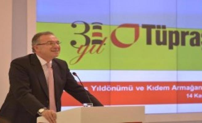 Tüpraş 31. Kuruluş Yıl Dönümünü Kutladı