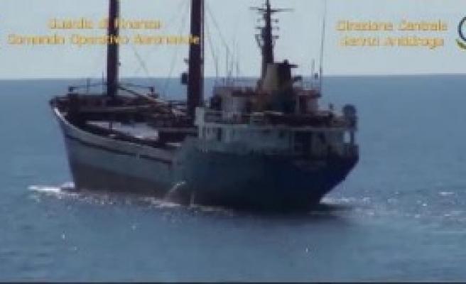 Türk Gemisine Uyuşturucu Baskını