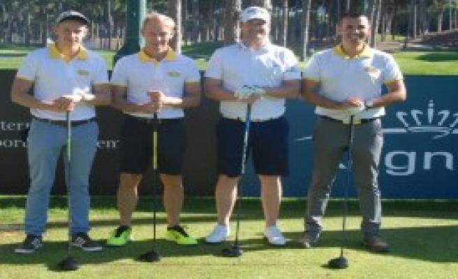 Pro-Am Golf Turnuvası Başladı