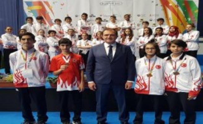 Türkiye, 2 Altın, 2 Bronz Madalya Kazandı