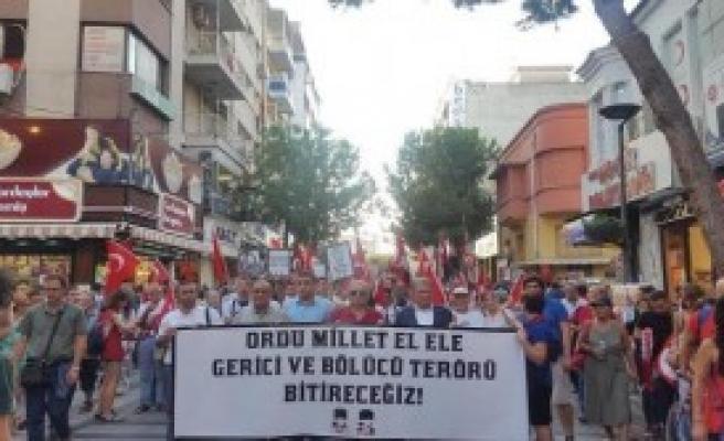 TGB'den Zafer Bayramı Yürüyüşü