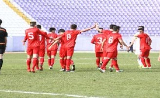 U18 Türkiye-U18 Makedonya: 4-1