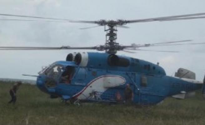 Ukrayna Helikopteri 8 Gün Sonra Uçtu