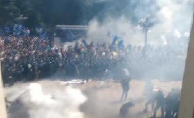 Ukrayna Kiev'de Patlama: En Az 1 Ölü