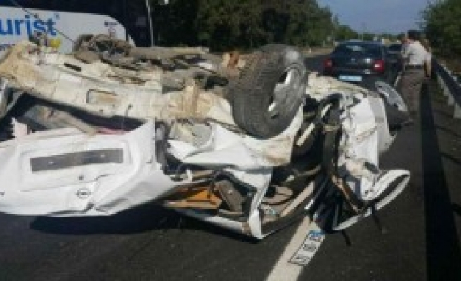 Ula'da Kaza: 4 Ağır Yaralı