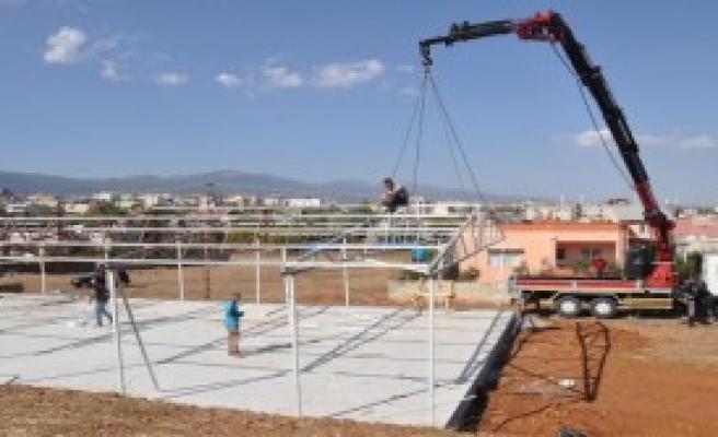 UNİCEF'ten Prefabrik Okul