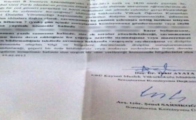 Üniversitede 1.5 Yıl Sonra Gezi Eylemine Soruşturma