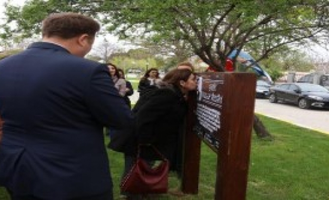 Urla'da Şehit Osman Türkücü adına park açıldı