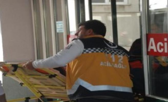 Eşi Ve 2 Çocuğu Yaralandı