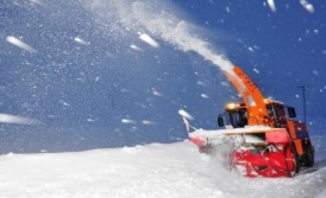 Van Ve Hakkari'de Kar Mücadelesi