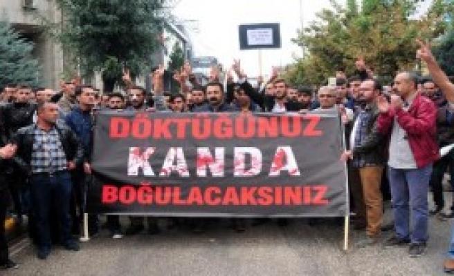 Protesto Eyleminde Olay Çıktı