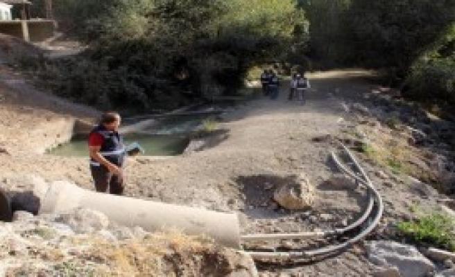 Kaçak Su Kullanımına 500 Bin Lira Ceza