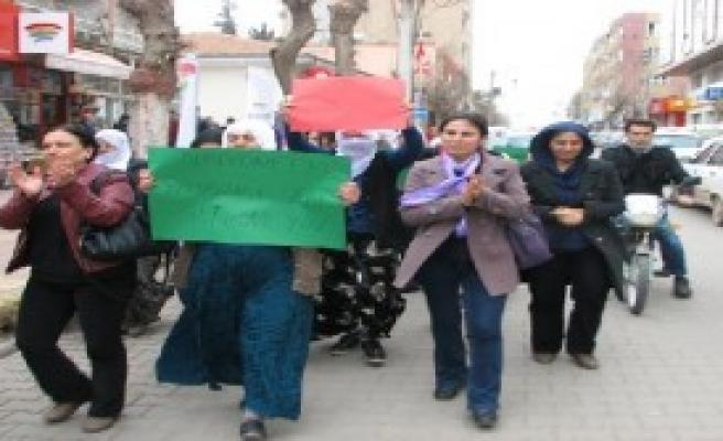 Viranşehir'de İç Güvenlik Yasası Protestosu