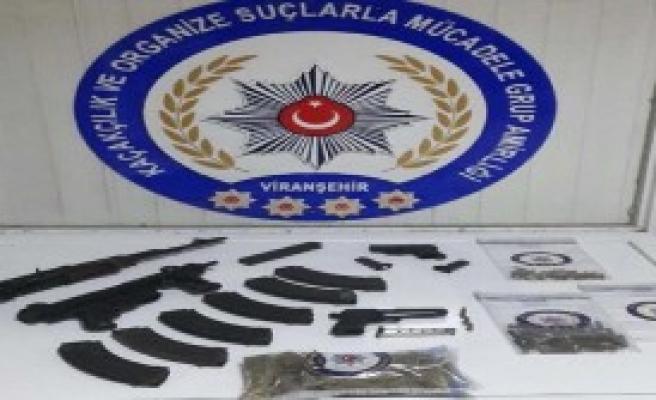 Silah Kaçakçılığına 3 Gözaltı