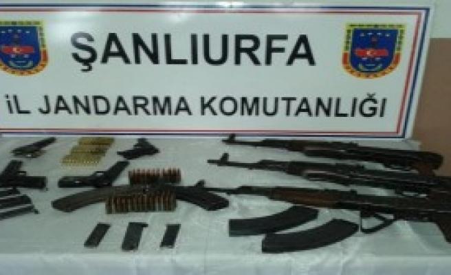 Viranşehir'de Silah Operasyonu: 3 Gözaltı