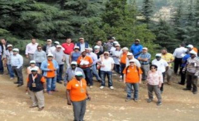 Yabancı Ormancılara Eğitim Gezisi