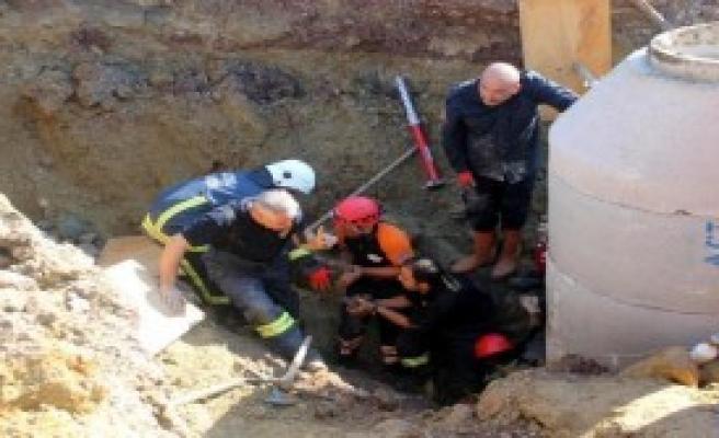 Yalova'da Göçük; 1 Yaralı