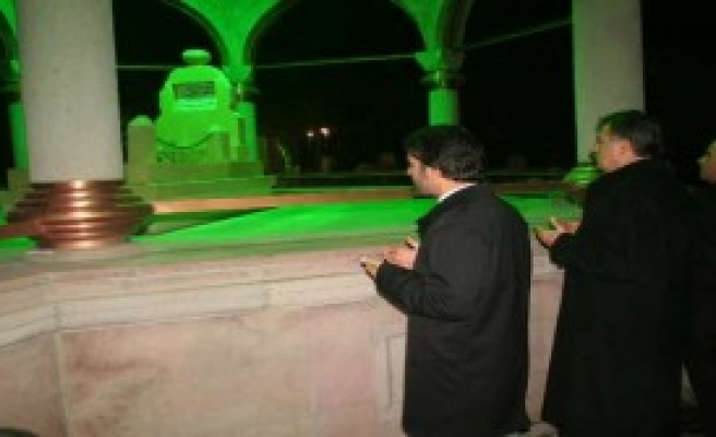 Erzincan'da Dualı Yılbaşı