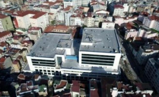 Yardım Hastanesi'nin Havadan Fotoğrafları