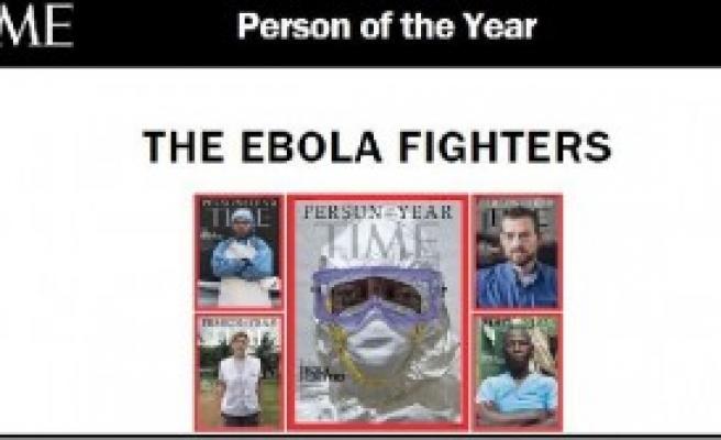 Yılın Kişisi: Ebola Savaşçıları
