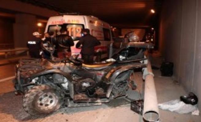 Yine ATV Kazası