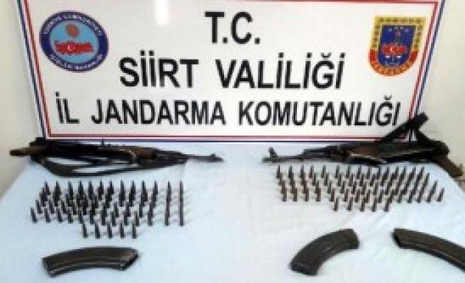 Kaçak Silah Ele Geçirildi