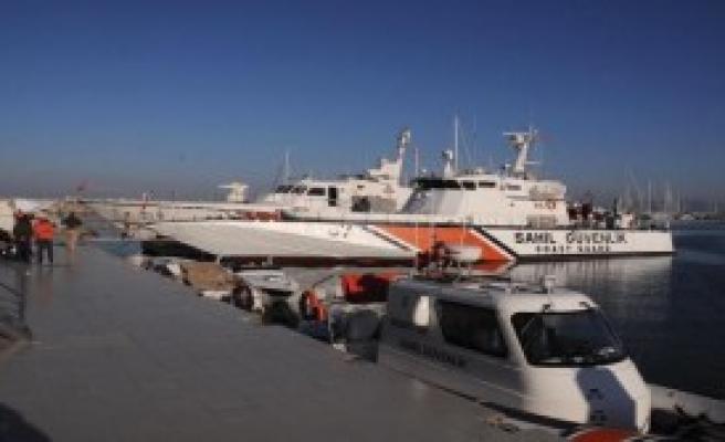 Yunanistan'a Gitmek İsteyen Kaçaklar Radara Yakalandı