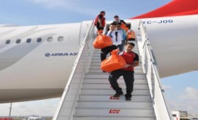 Yurtdışında Kullanılan Oylar Türkiye'ye Getiriliyor