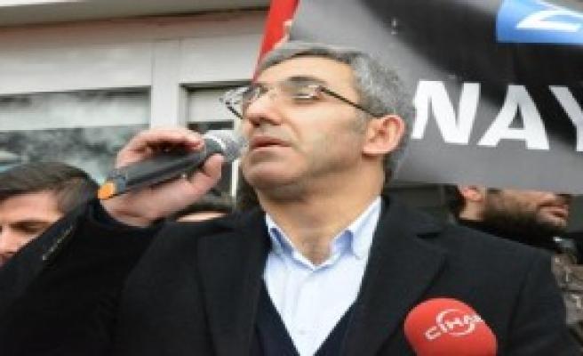 Bursa'da Zaman Gazetesi Protestosu